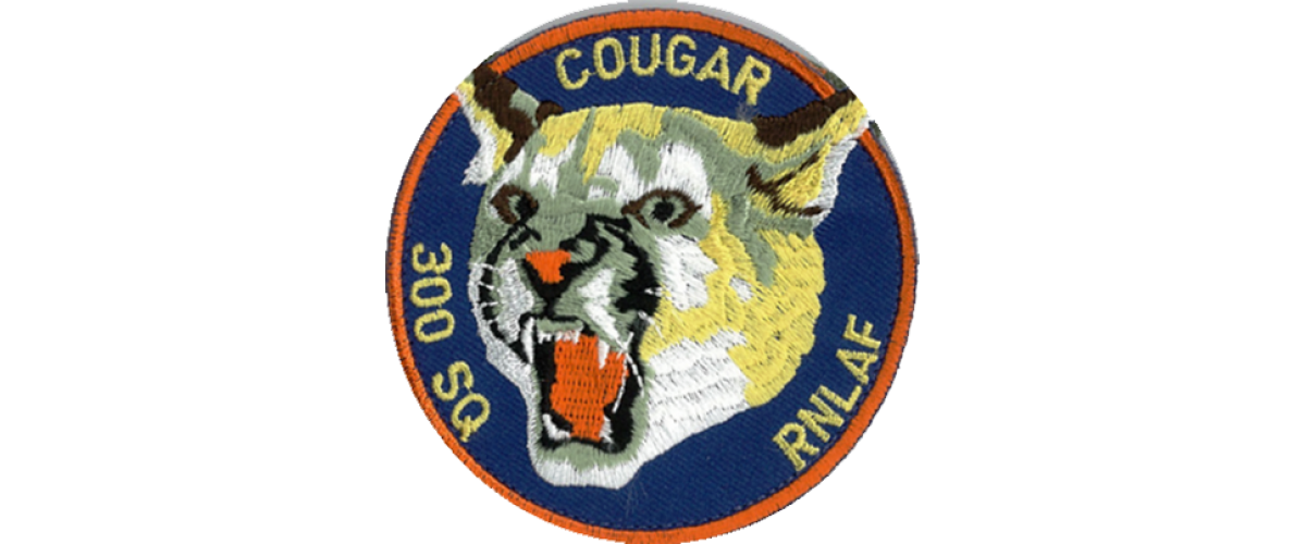 Patch 300 Squadron Cougar Full Color