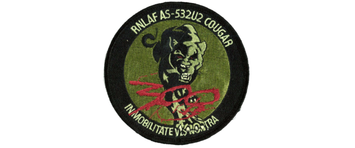 Patch 300 Squadron Poema Groen/Rood